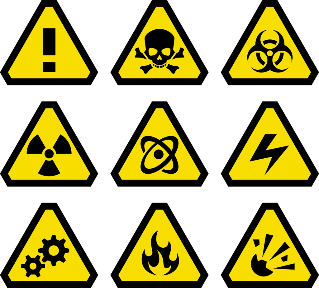 pericolo esplosione